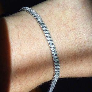 Jewelry - Genuine Diamond Tennis Bracelet